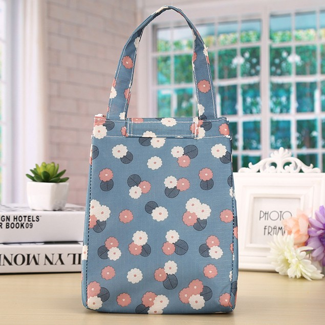 Insulated Thermal Cooler Lunch Box Tote Storage Bag Picnic Container