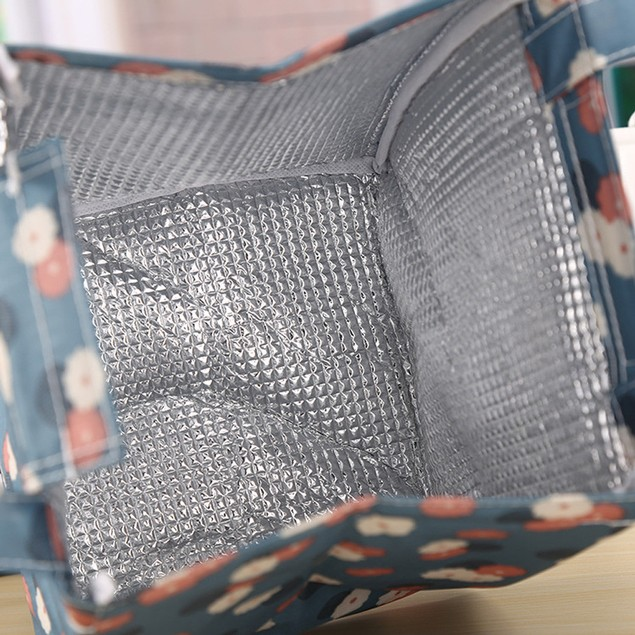 Insulated Thermal Cooler Lunch Tote - Assorted Colors