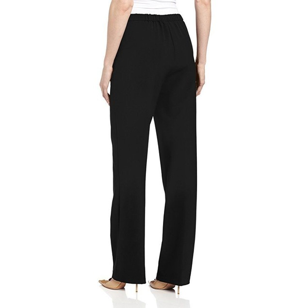 Briggs New York Women's All Around Comfort Pant,Black,18