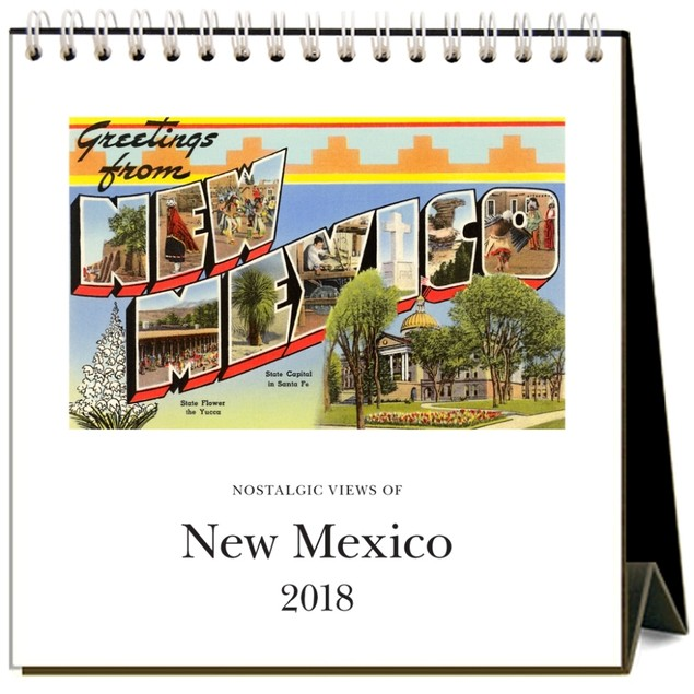 New Mexico Easel Calendar, New Mexico by Calendars