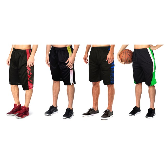 5-Pack Mystery Deal: Men's Moisture-Wicking Mesh Shorts (S-2X)