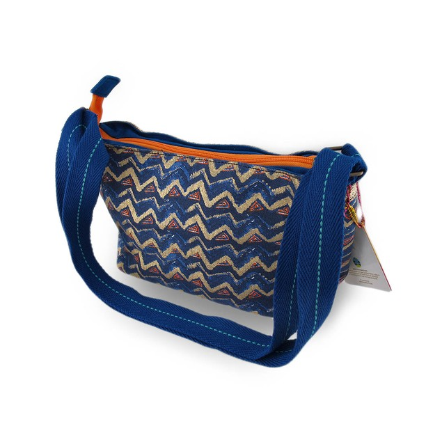 Laurel Burch Azul Small Colorful Cross Body Bag Womens Cross Body Bags