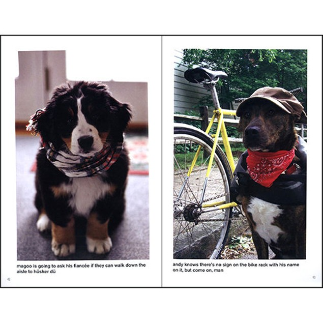 Hipster Puppies Book, Assorted Dogs by New American Library