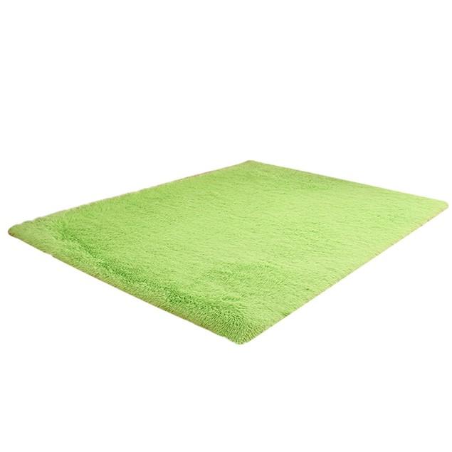 Fluffy Rugs Anti-Skid Shaggy Area Rug Home Carpet Floor Mat