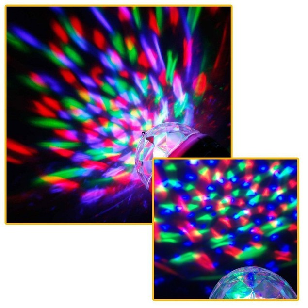 Mini USB Disco Light Portable home party light DC 5V USB Disco ball