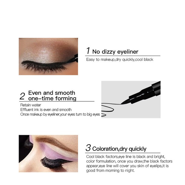 Makeup Black Eyeliner Waterproof Liquid Beauty Comestics Eye Liner Pencil