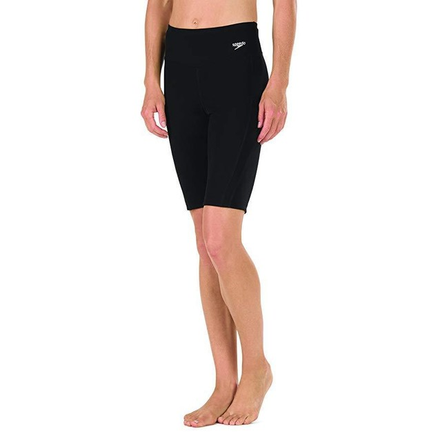 Women's Endurance Swim Jammer, Black, 8