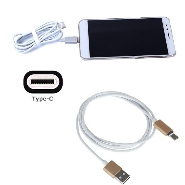 Magnetic USB Charger Cord Sync Data Cable Type-C For Android