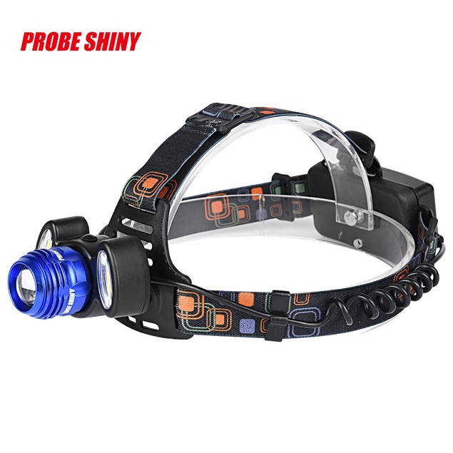 15,000Lm Rechargeable Headlight Flashlight with Charger