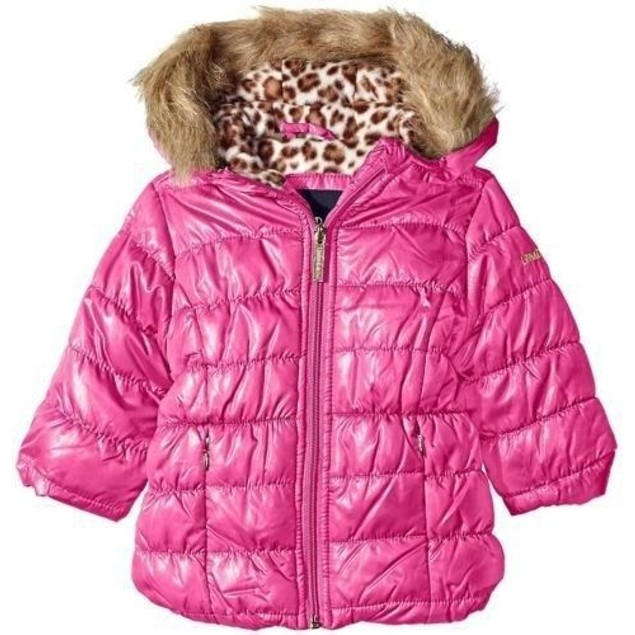 Limited Too Baby Girls' Quilted Iridescent Puffer, Pink, 24 Months
