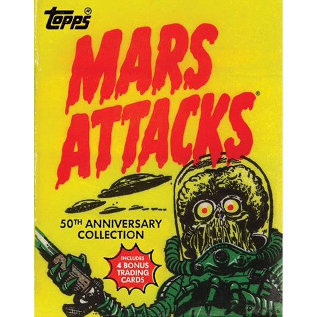 Mars Attacks Book, Commercial Art by Abrams
