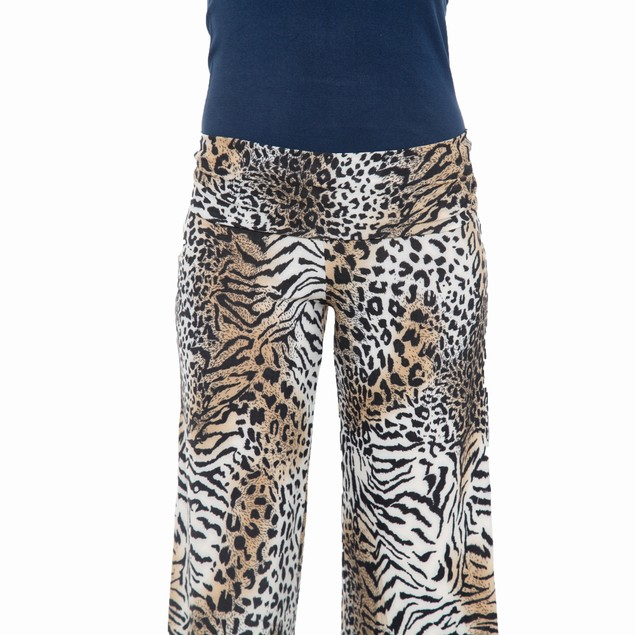 Leopard Printed Palazzo Pants