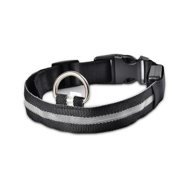 Nylon LED Dog Collar