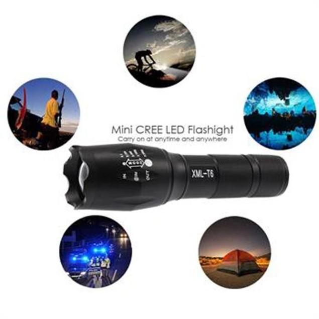 G700 Tactical Flashlight LED Military Lumitact Alonefire
