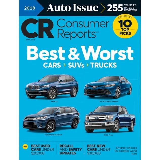 Consumer Reports Magazine Subscription