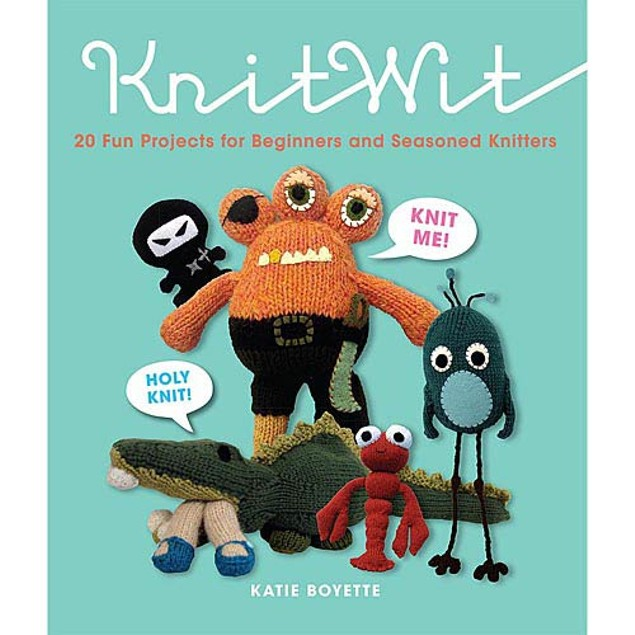 KnitWit 20 Projects for Beginners and Seasoned Knitters, Women's Interests
