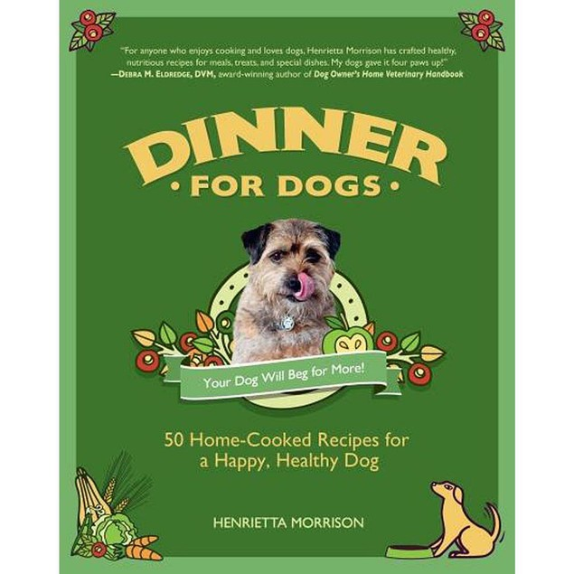 Dinner for Dogs Book, Assorted Dogs by Random House Group