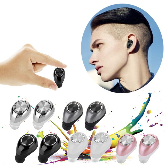 Mini Twins Wireless Bluetooth Stereo Headset In-Ear Earphones Earbuds