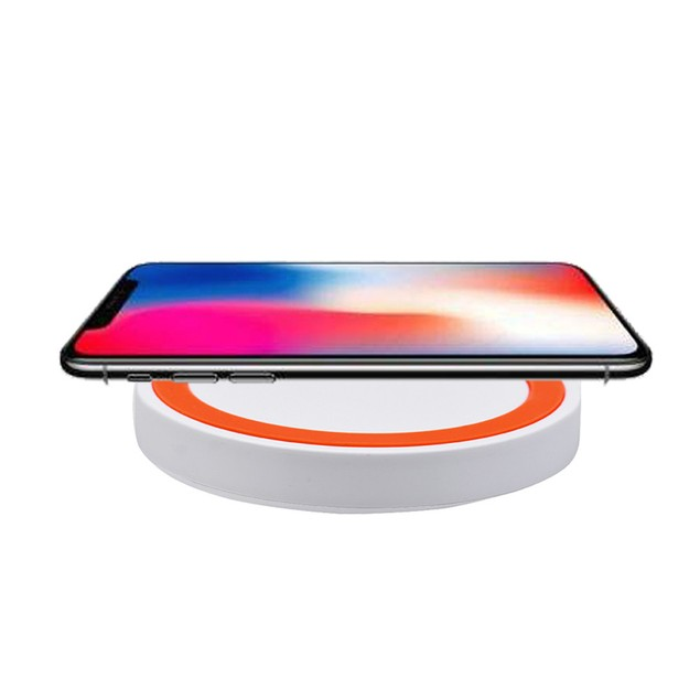 Qi Wireless Power Fast Charger Charging Pad For Iphone 8 / 8 Plus / X