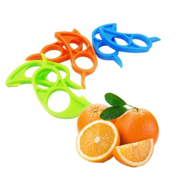 3PCs Lemon Orange Peeler Slicer Cutter Plastic