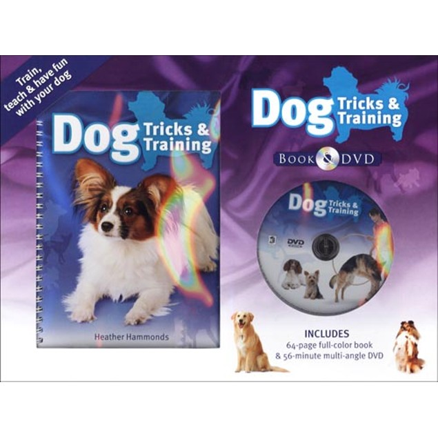 Dog Tricks and Training  (Book and DVD), Dog Training by Hinkler Books