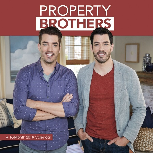 Property Brothers Wall Calendar, More TV by Trends International