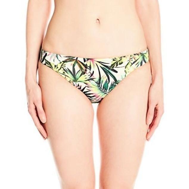 Lucky Brand Women's Coastal Palms Skimpy Hipster Bikini Bottom, Ivy SZ: M