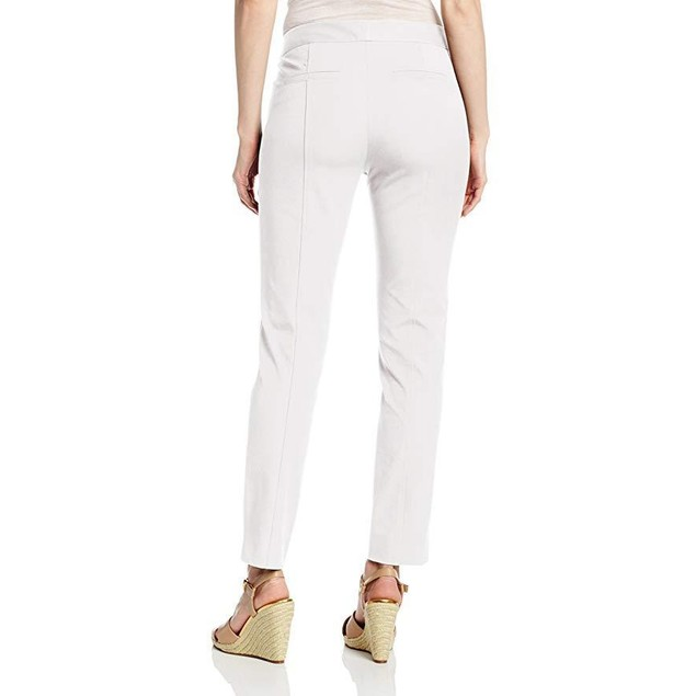 NYDJ Women's Ankle Bi-Stretch Pant, Optic White,  SZ 14