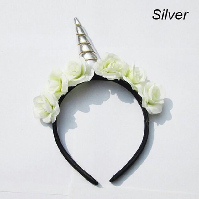 Unicorn Rose Headband