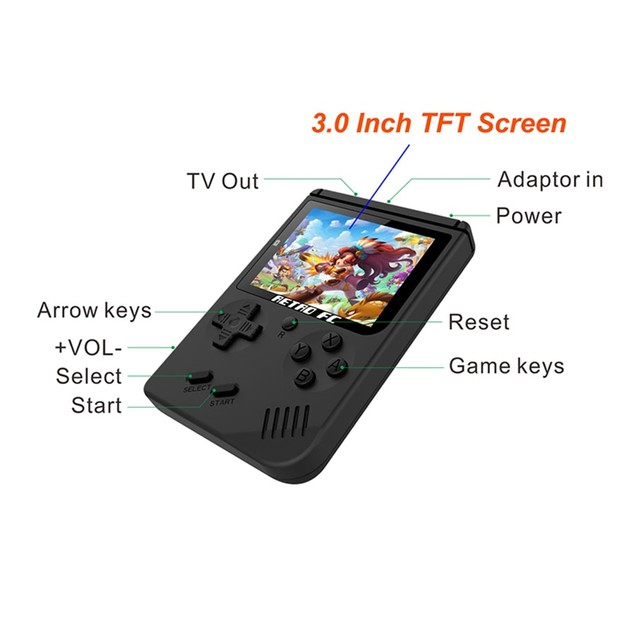 Mini Portable Handheld Video Game Console Retro FC Players