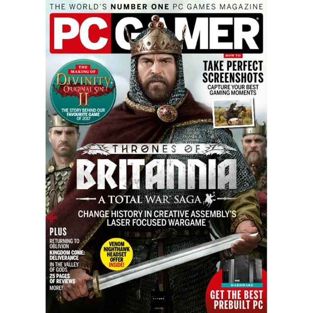 PC Gamer Magazine Subscription