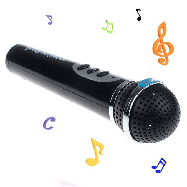 Microphone Mic Karaoke Singing Kid Funny Gift Music Toy