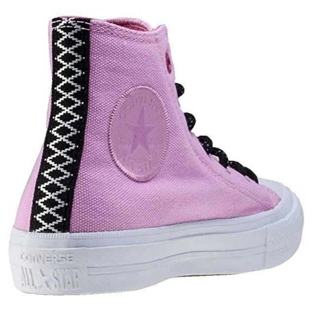 Converse Ctas Ii Hi Shield Womens Trainers Pink White mens Sz 6 womns
