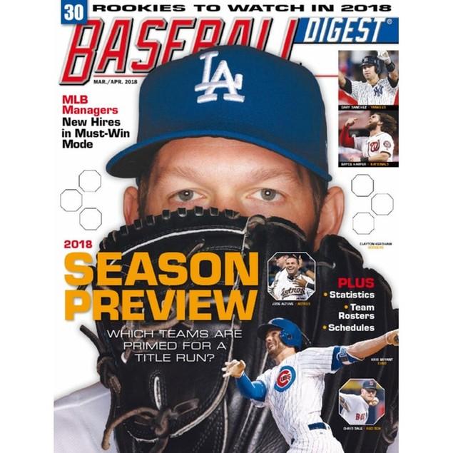 Baseball Digest Magazine Subscription