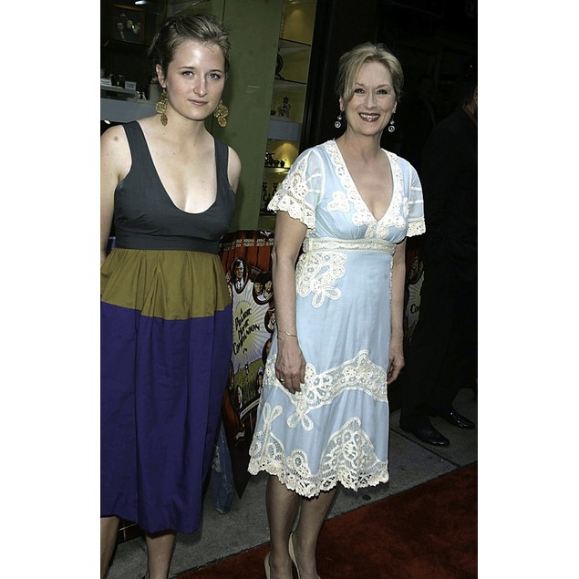 Meryl Streep arriving at A Prairie Home Companion screening at The Director