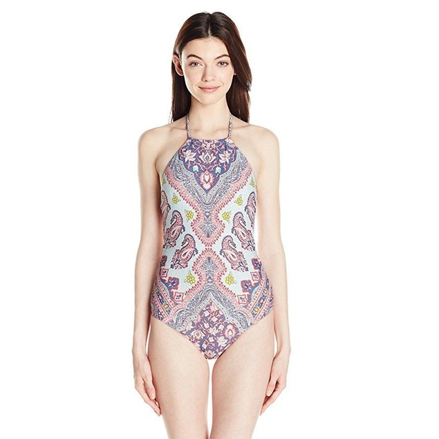 Billabong Women's Luv Lost One Piece Swimsuit, Multi, M