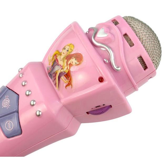 Wireless LED Microphone Mic Karaoke Singing Music Toy
