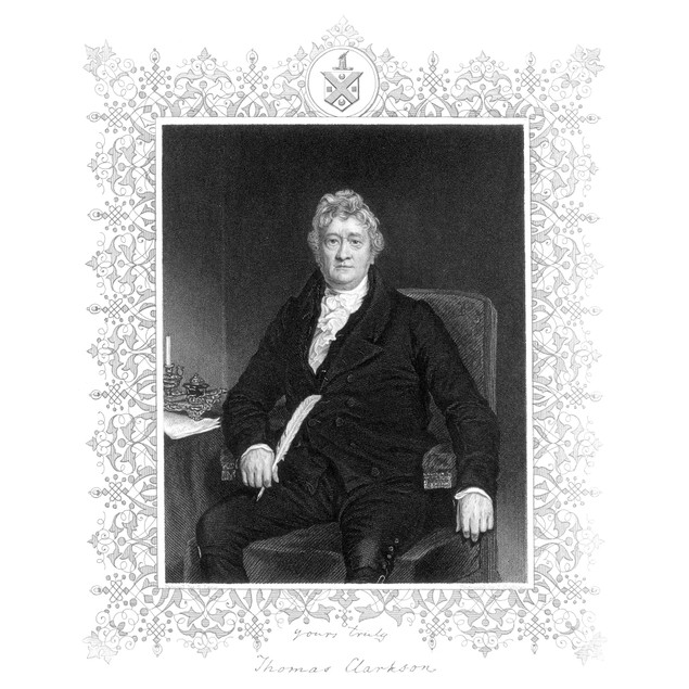 Thomas Clarkson (1760-1846). /Nenglish Abolitionist. Contemporary Steel Eng