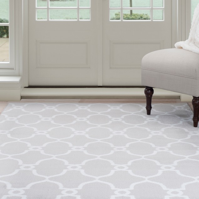 Lavish Home Lattice Area Rug