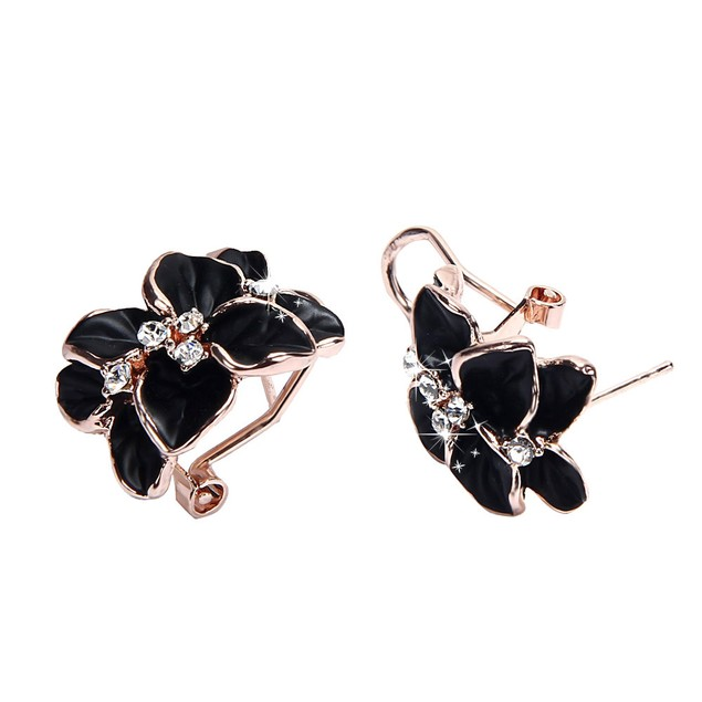Luxury Women Floral Wedding Party Earring