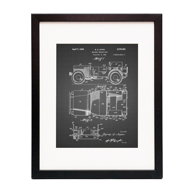 Willy's Jeep Patent Poster