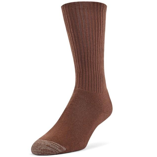 Galiva Men's Cotton Extra Soft Crew Cushion Socks - 3 Pairs