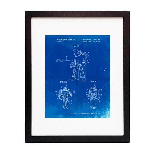 Megatron Patent Poster
