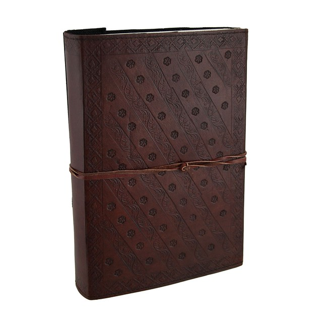 Large Embossed Leather Celtic Tree Of Life 184 Art Sketchbooks And