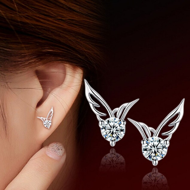 Women's Fashion Elegant Angel Wings Earrings