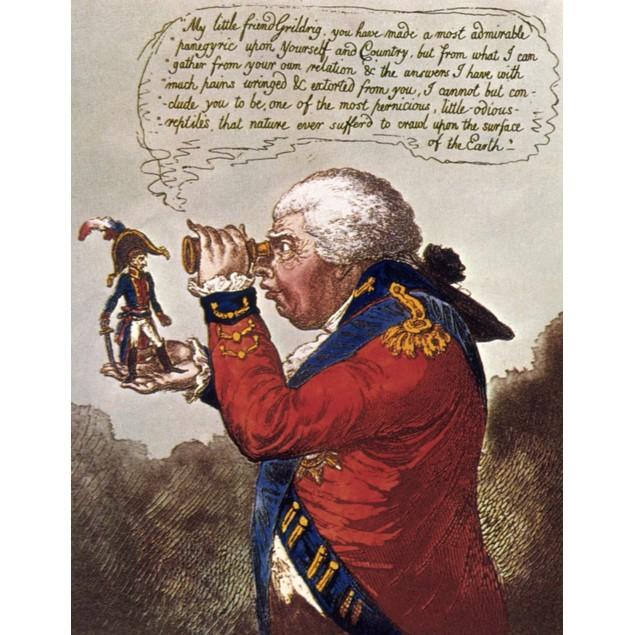 Brobdingnag & Gulliver. /N'The King Of Brobdingnag And Gulliver.' Satirical