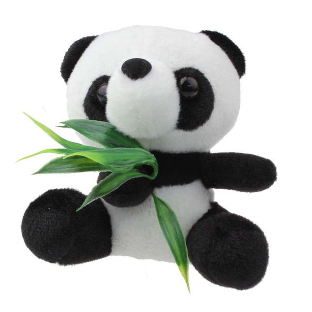 Kid's Mini Panda Bear Stuffed Animal Toy