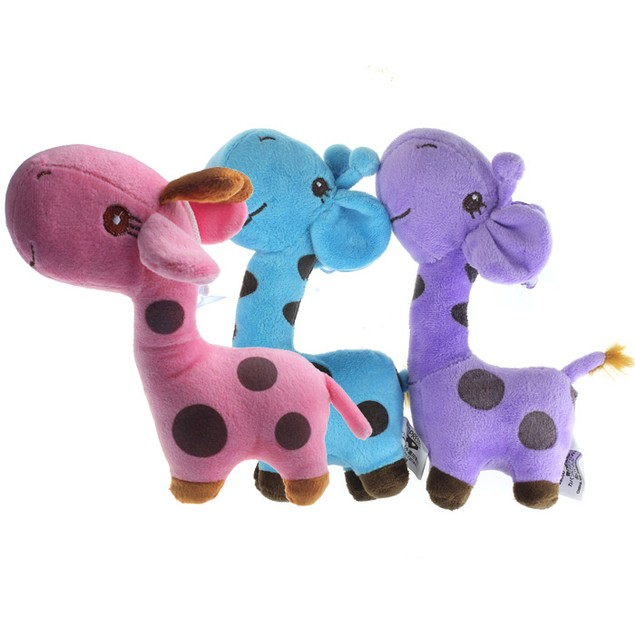 Giraffe Dear Soft Plush Toy Animal Dolls Baby Kid Birthday Party Gift