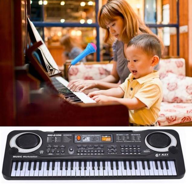 61-Key Electronic Keyboard Musical Instrument