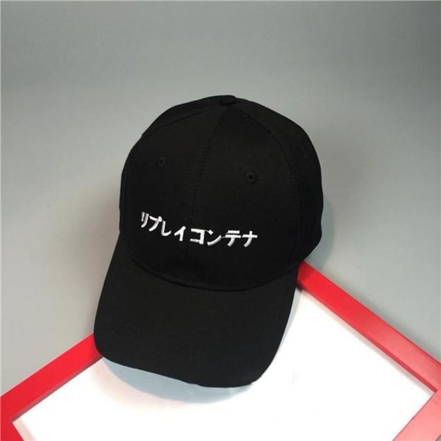 Embroidery Letter Cotton Baseball Cap Snapback Caps Hip Hop Hats
